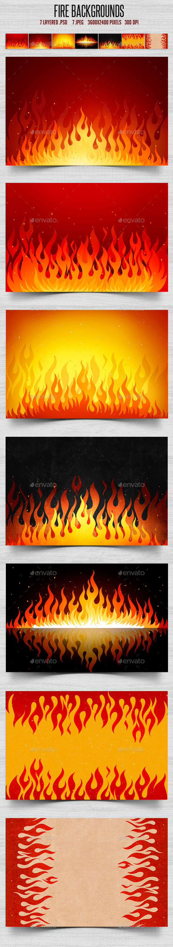 Fire Backgrounds - Backgrounds Graphics