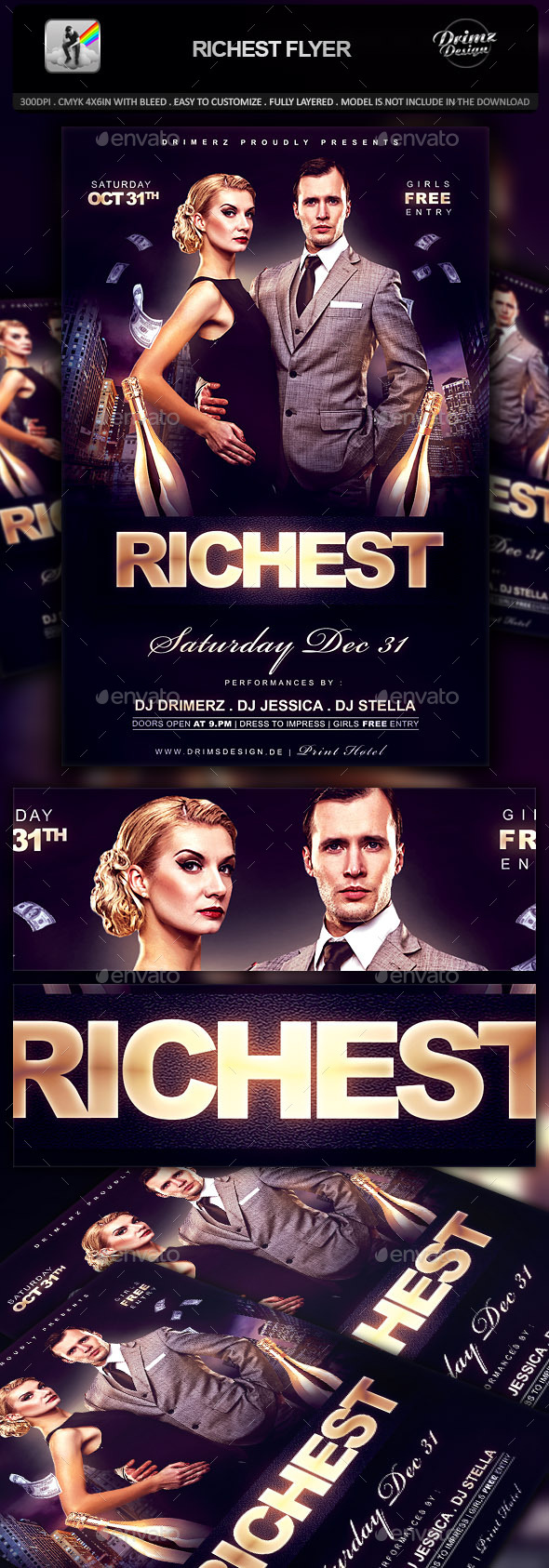 Richest Flyer - Events Flyers