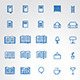Home and Public Library Icons - GraphicRiver Item for Sale