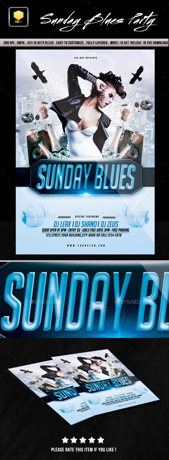 Sunday Blues Party - Clubs & Parties Events