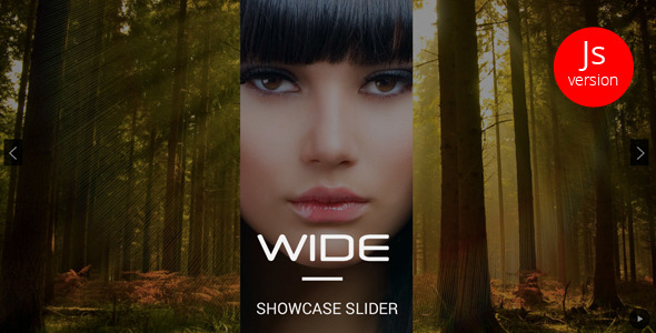 WIDE – jQuery Showcase Slider - CodeCanyon Item for Sale
