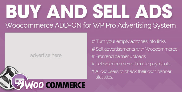 Pro Ads Buy and Sell – Woocommerce