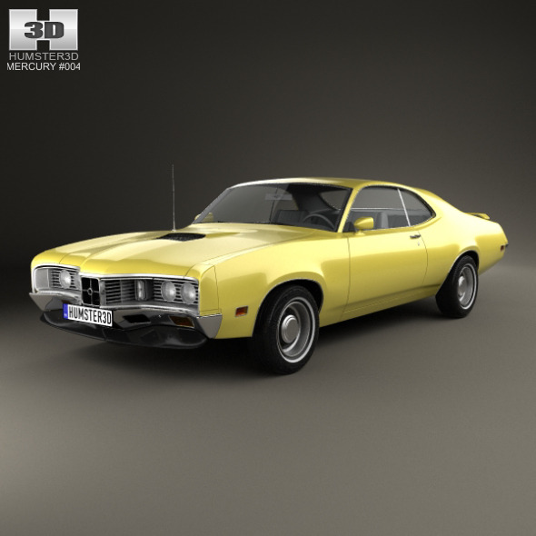 Mercury Montego Coupe 1970 - 3DOcean Item for Sale