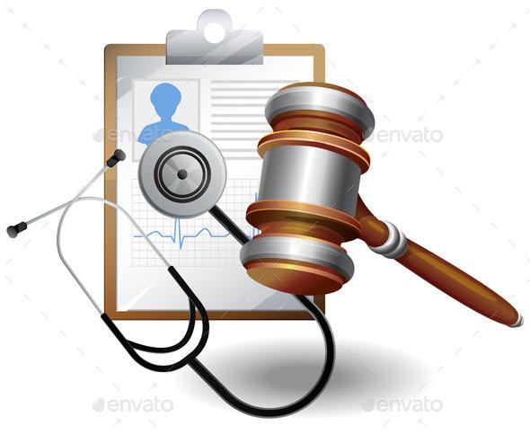 Medical Negligence Compensation - Health/Medicine Conceptual