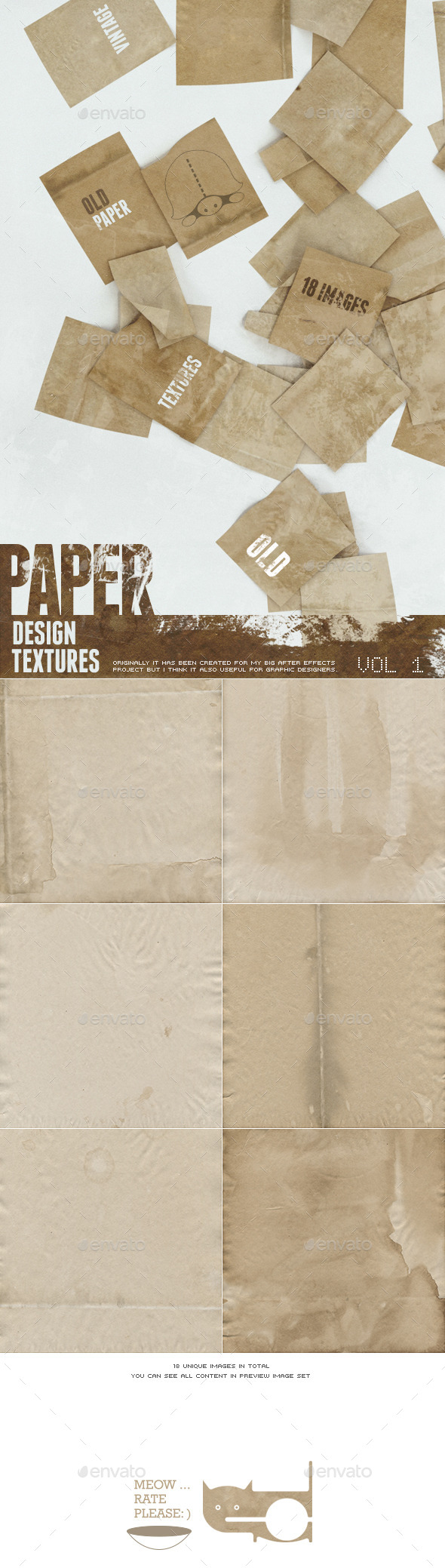 Old Paper - Backgrounds Graphics
