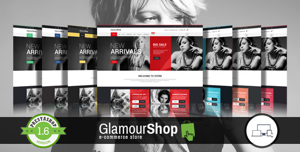 GlamourShop Responsive Prestashop 1.6 Theme + Blog