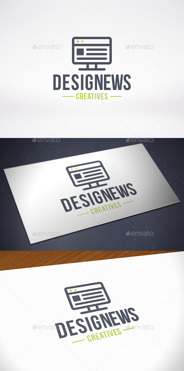 Design News Logo Template - Objects Logo Templates