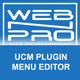 UCM Plugin: Menu Editor - CodeCanyon Item for Sale