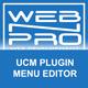 UCM Plugin: Menu Editor - CodeCanyon Item for Sale