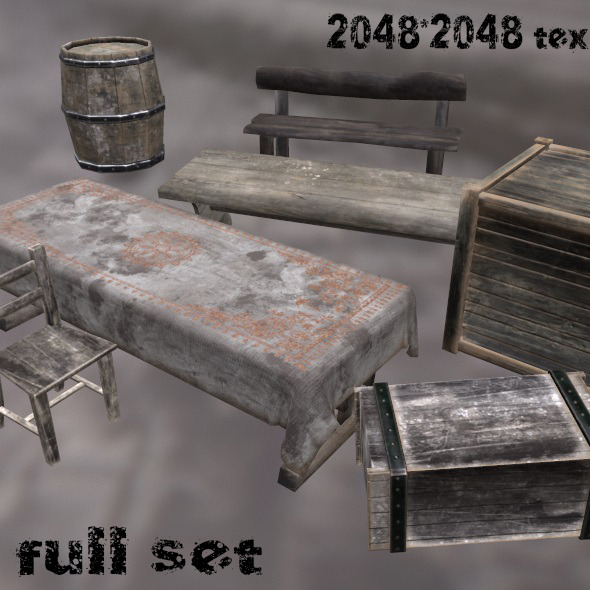 MediEvil_Set - 3DOcean Item for Sale