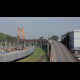 Overpass in the Commercial Sea Port  - VideoHive Item for Sale