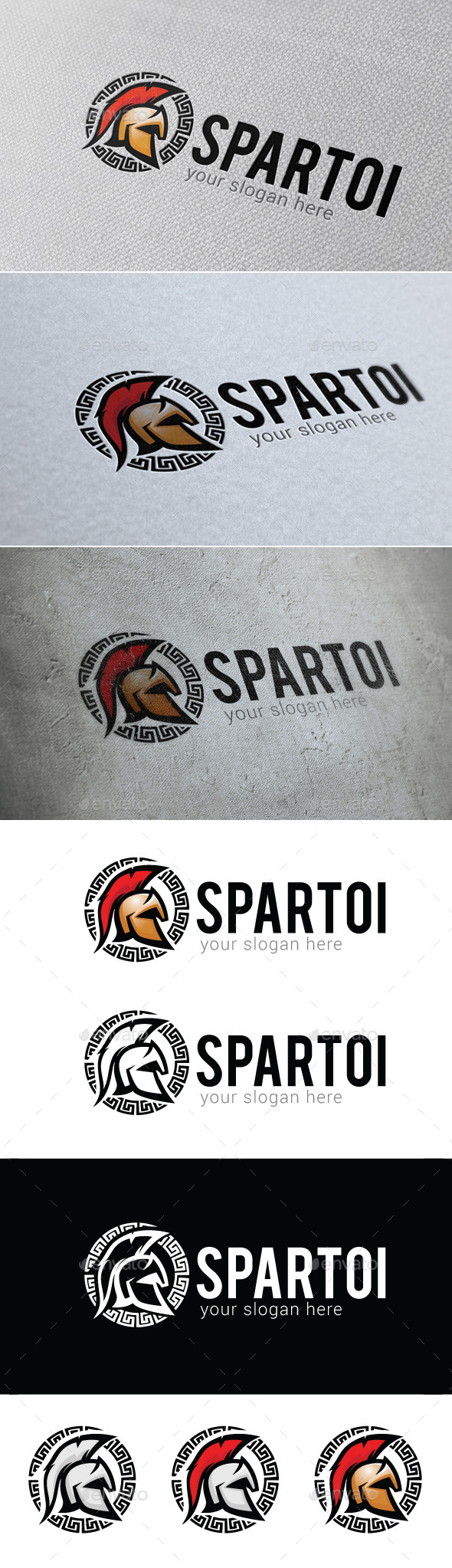 Spartoi Logo Template - Symbols Logo Templates