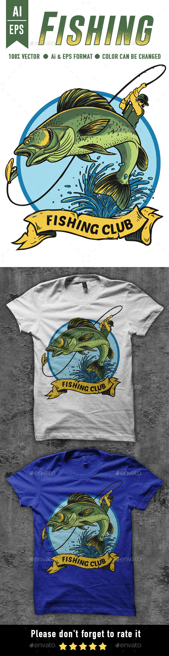Fishing T-shirt Design - Sports & Teams T-Shirts