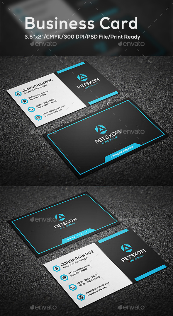 Modern Business Card Vol. 6 - Corporate Business Cards