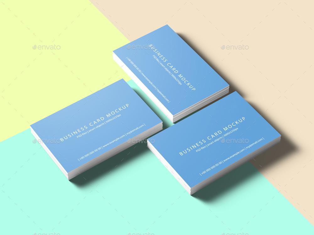 85x55 Business Card Mockup by professorinc | GraphicRiver