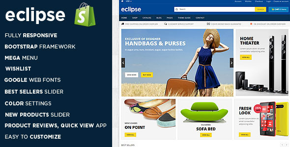 Eclipse – Responsive Shopify Theme