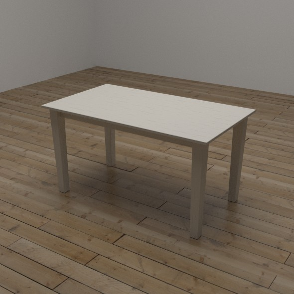 Rectangular Table - 3DOcean Item for Sale