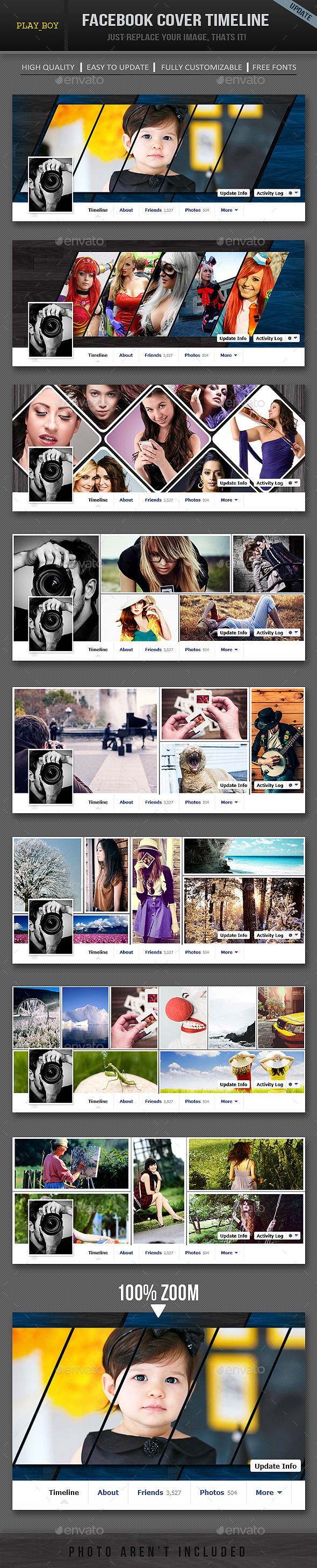 Facebook Timeline Cover Template - Facebook Timeline Covers Social Media