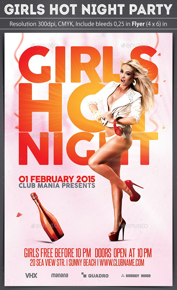 Girls Hot Night - Clubs & Parties Events
