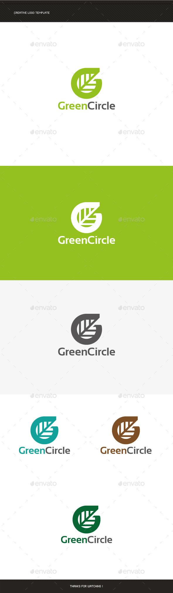 G Letter Leaf Logo - Letters Logo Templates