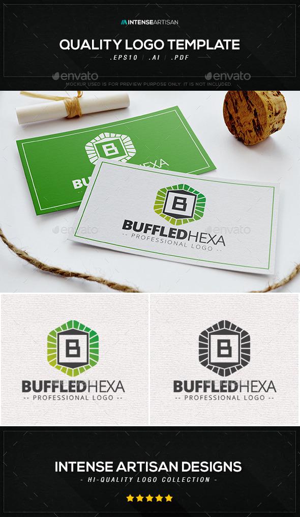 Buffled Hexa Logo Template - Letters Logo Templates