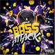 Bass Attack - Electro Flyer or CD Template - GraphicRiver Item for Sale