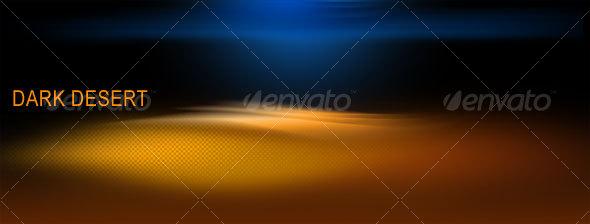 Dark Desert - Backgrounds Graphics