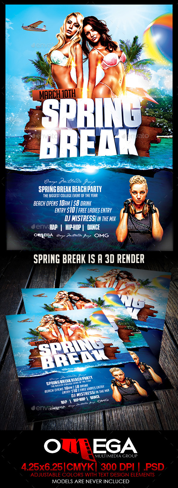 Spring Break 15 - Events Flyers