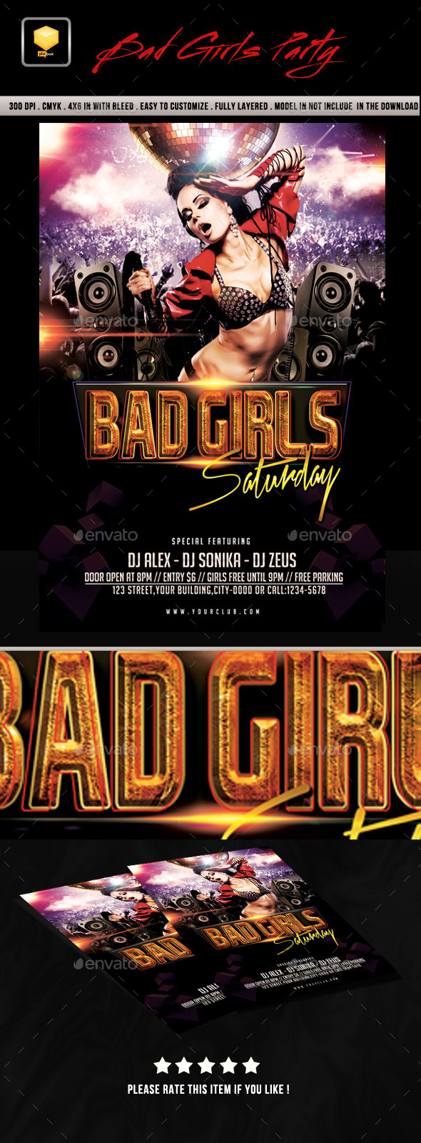 Bad Girls Saturday - Clubs & Parties Events