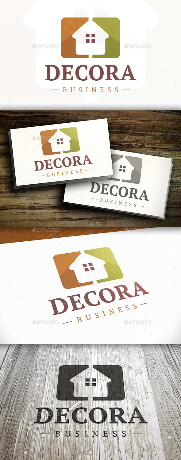 Modern Home Logo By Bosstwinsart Graphicriver