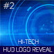 Hi-Tech HUD Logo Reveal 2 - VideoHive Item for Sale