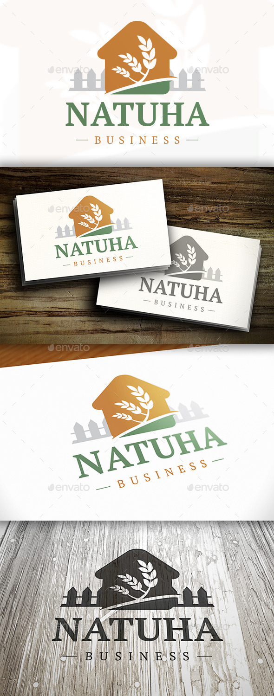 House Nature Logo - Buildings Logo Templates