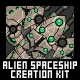 Alien Spaceship Creation Kit - GraphicRiver Item for Sale