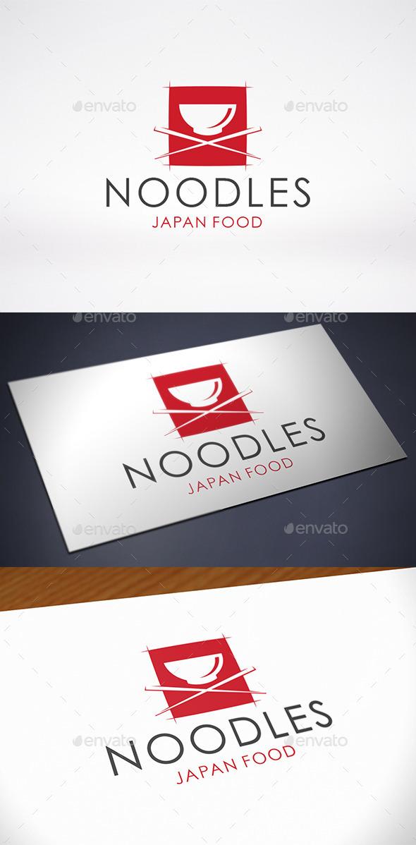 Noodle Logo Template - Food Logo Templates