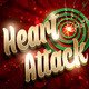 Heart Attack Valentines Party Flyer - GraphicRiver Item for Sale