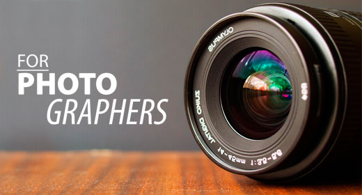 FOR PHOTOGRAPHERS