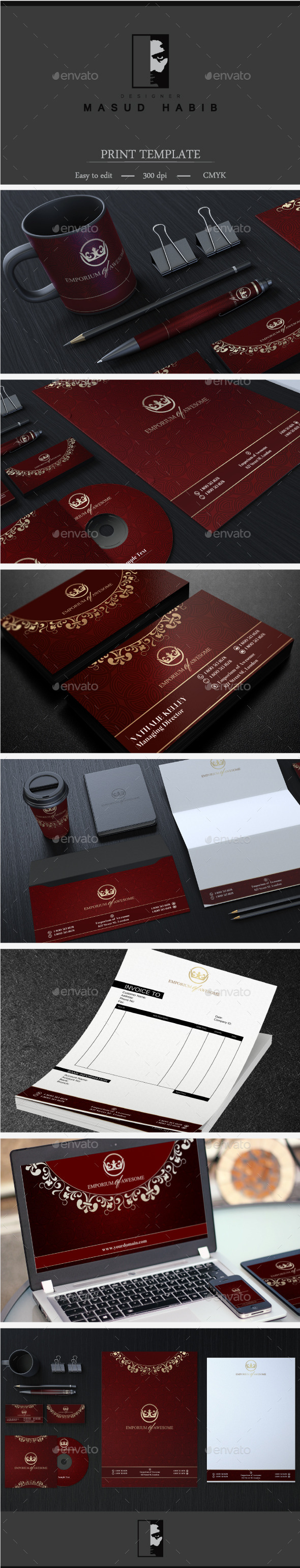 Creative Corporate Identity 27 - Stationery Print Templates