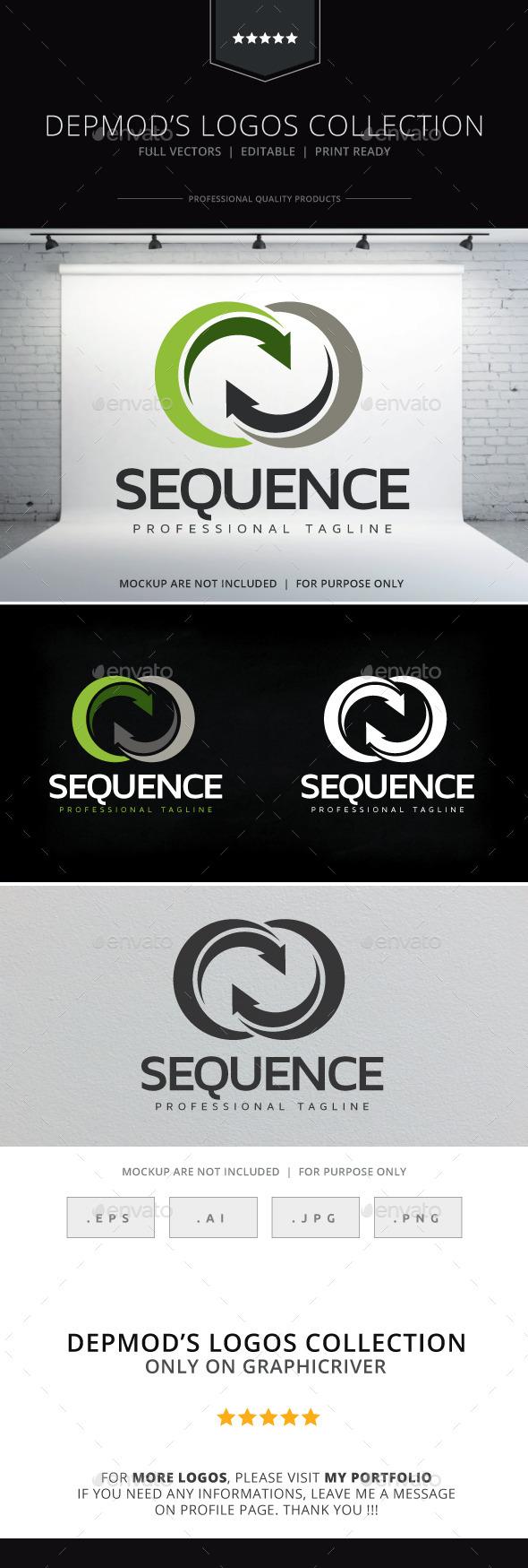 Sequence Logo - Abstract Logo Templates