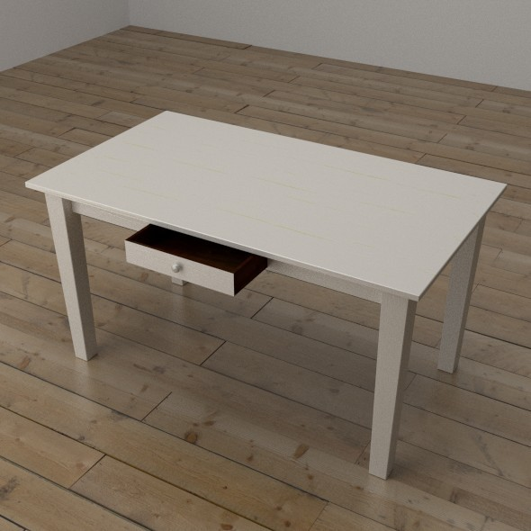 Table with Drawer - 3DOcean Item for Sale