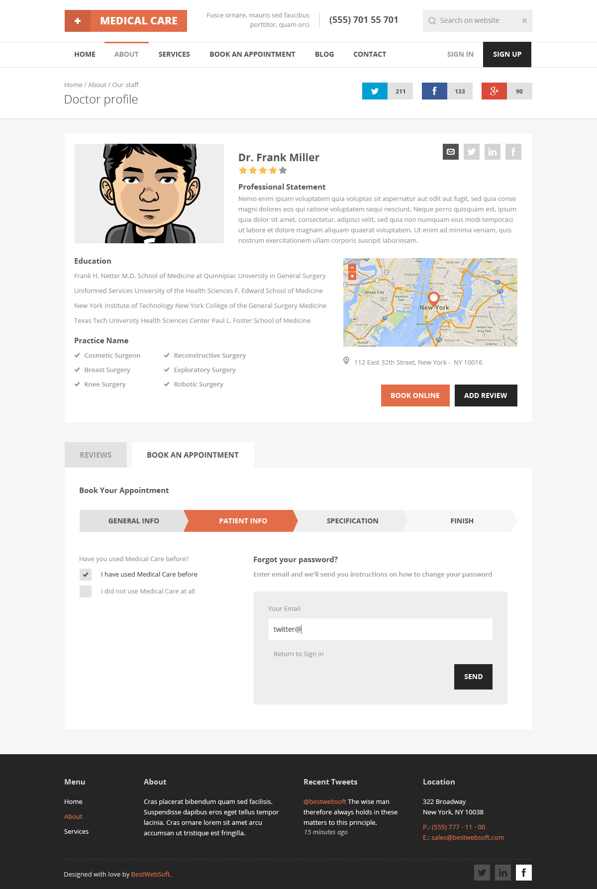 doctor profile template - Selo.l-ink.co