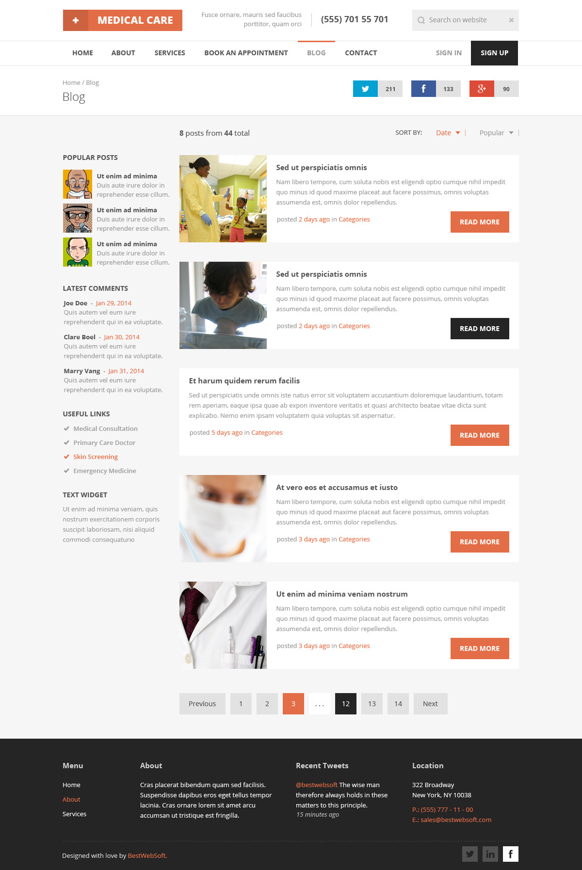 Medical care responsive medical html5 template by bestwebsoft jpg19 blog sidebar v1g maxwellsz
