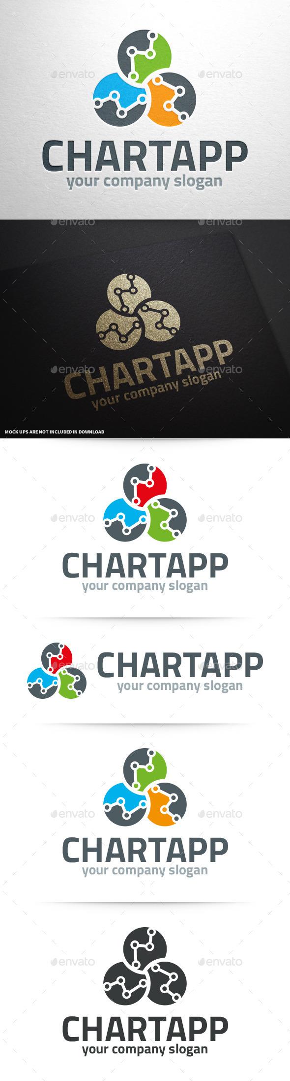 Stats App Logo Template - Abstract Logo Templates