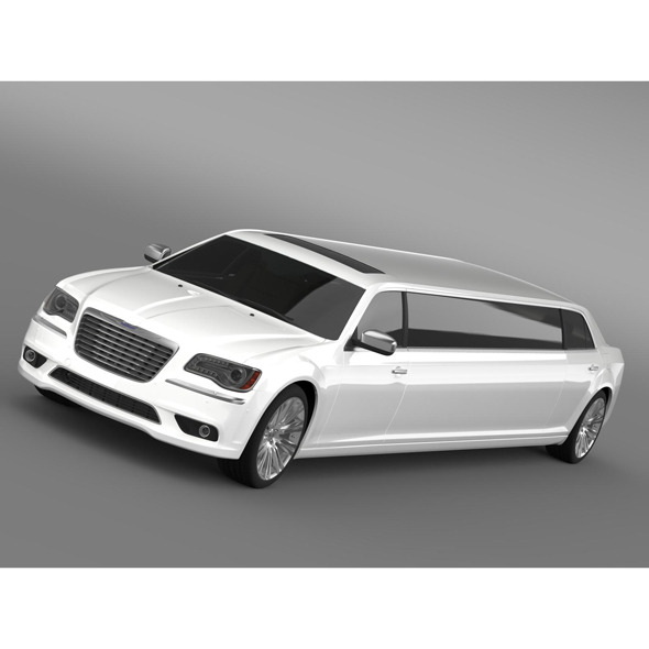 Chrysler 300C 2013 Limousine - 3DOcean Item for Sale