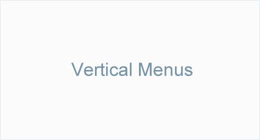 Vertical Menus