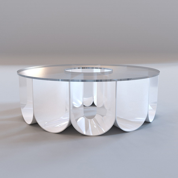 Roche Bobois - Iride coffee table - 3DOcean Item for Sale