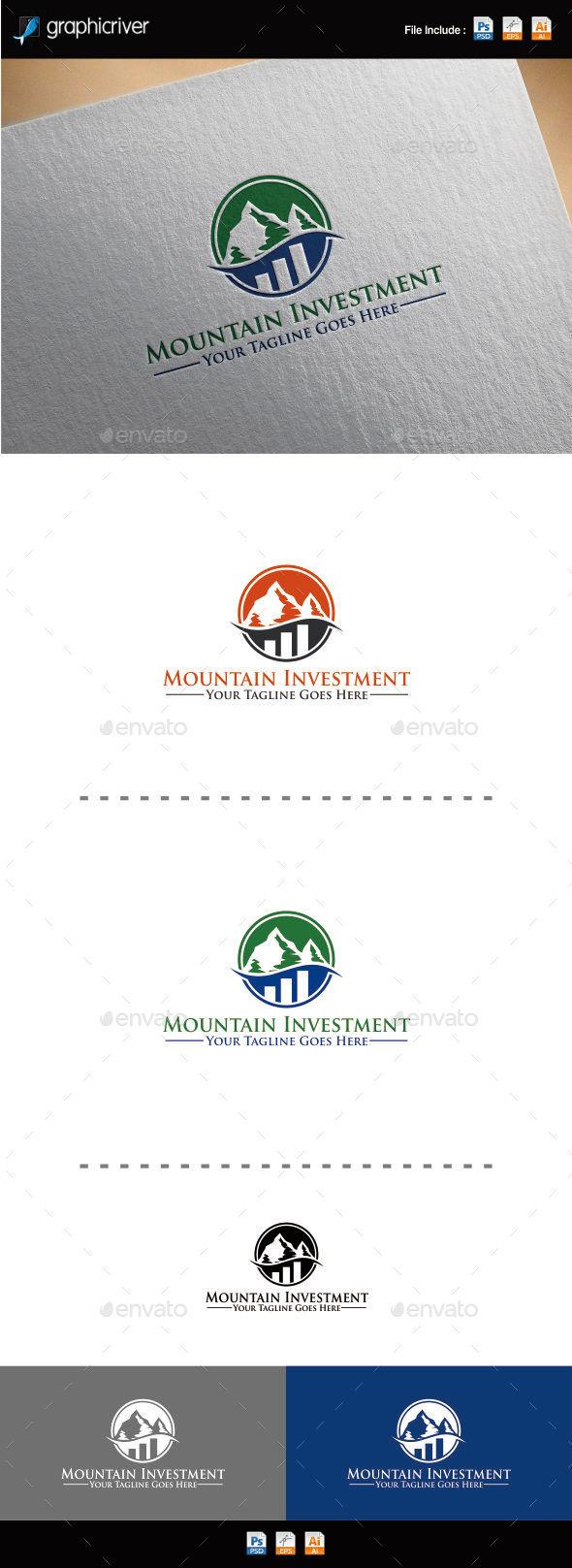 Mountain Investment Logo - Nature Logo Templates