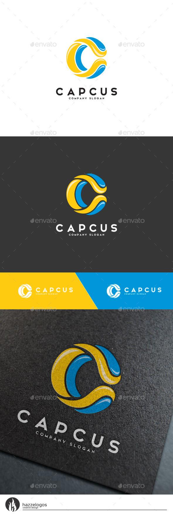 Capcus - Letter C Logo - Letters Logo Templates