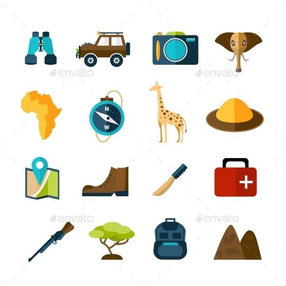Safari Icons Set - Miscellaneous Icons