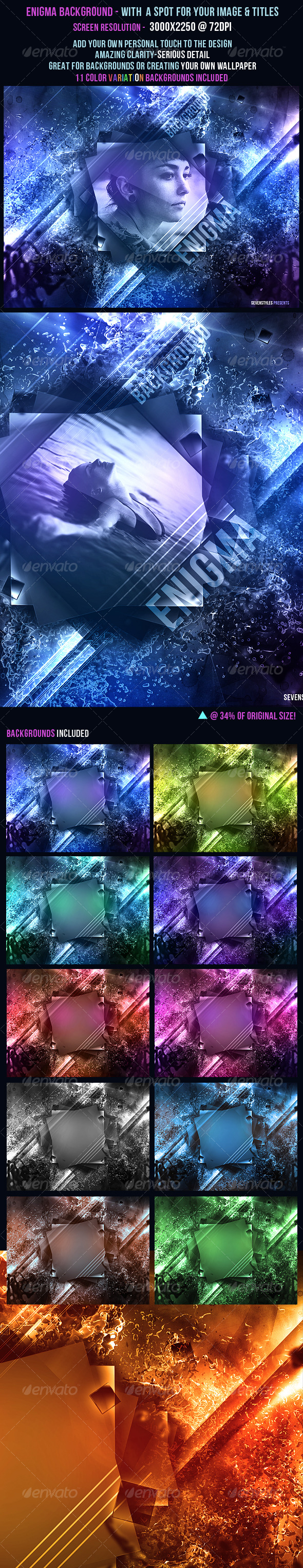 Enigma Background - Backgrounds Graphics