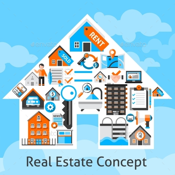Real Estate Concept - Business Conceptual